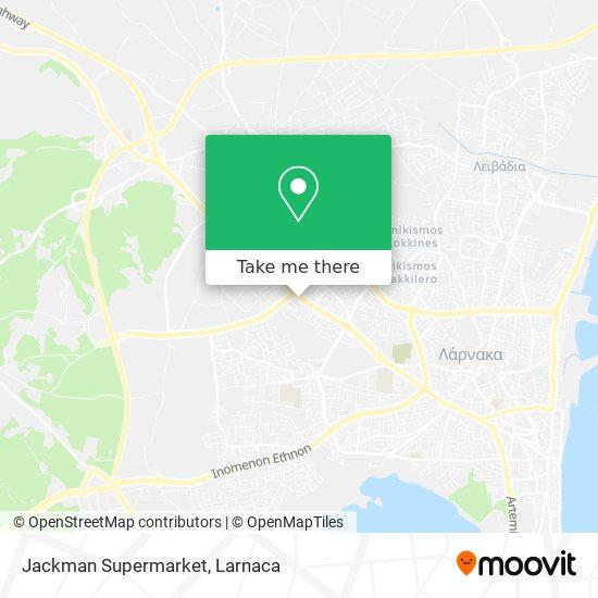 Jackman Supermarket χάρτης