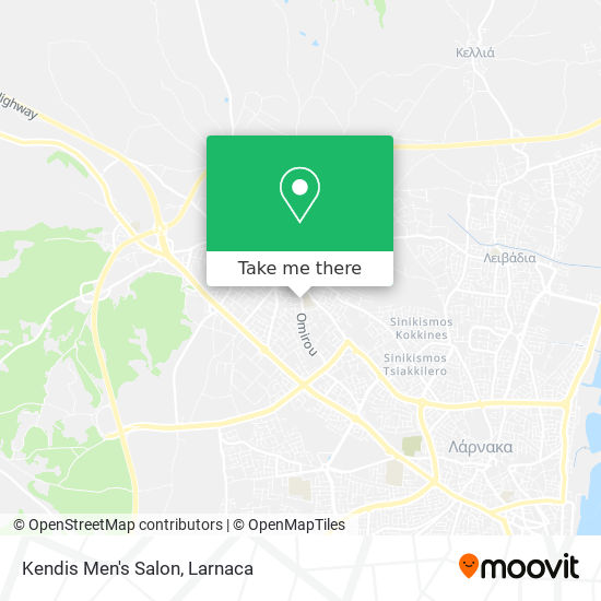 Kendis Men's Salon χάρτης
