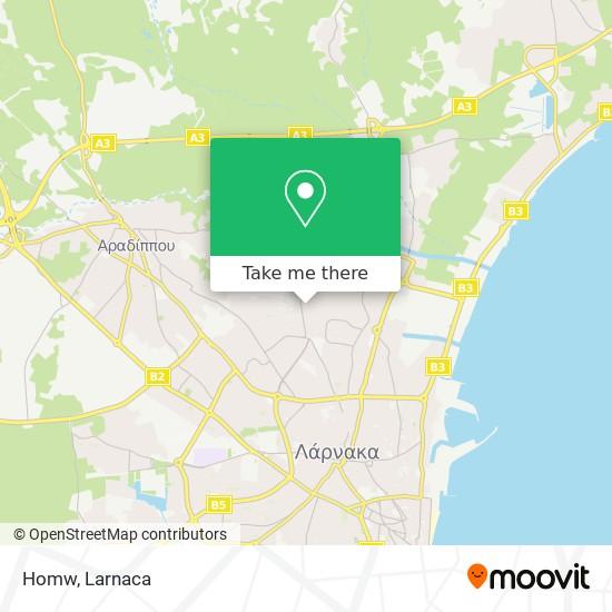 Homw χάρτης