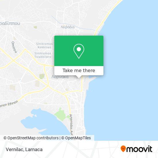 Vernilac χάρτης
