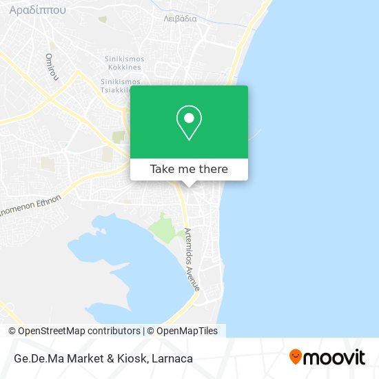 Ge.De.Ma Market & Kiosk χάρτης