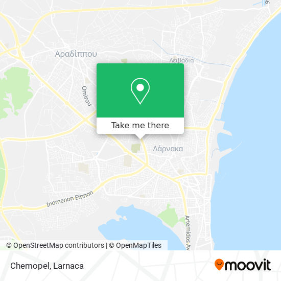 Chemopel χάρτης