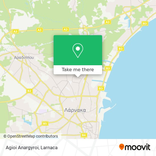 Agioi Anargyroi χάρτης