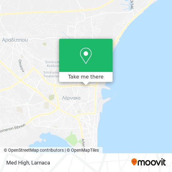 Med High χάρτης
