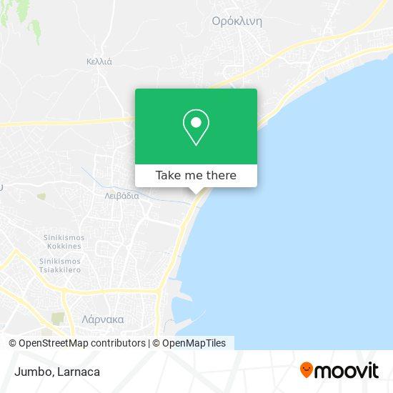 Jumbo χάρτης