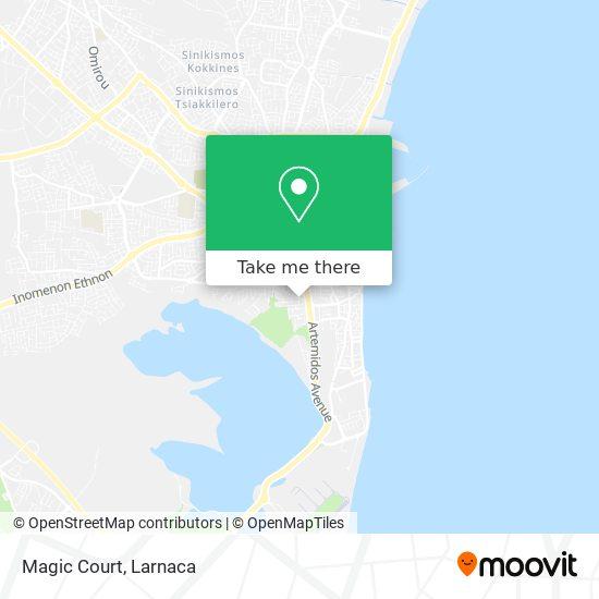 Magic Court χάρτης