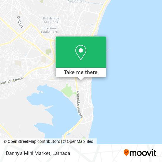 Danny's Mini Market χάρτης