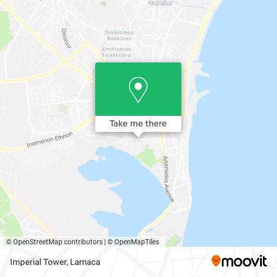 Imperial Tower χάρτης