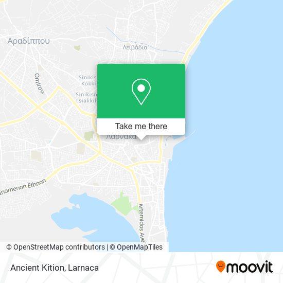 Ancient Kition χάρτης