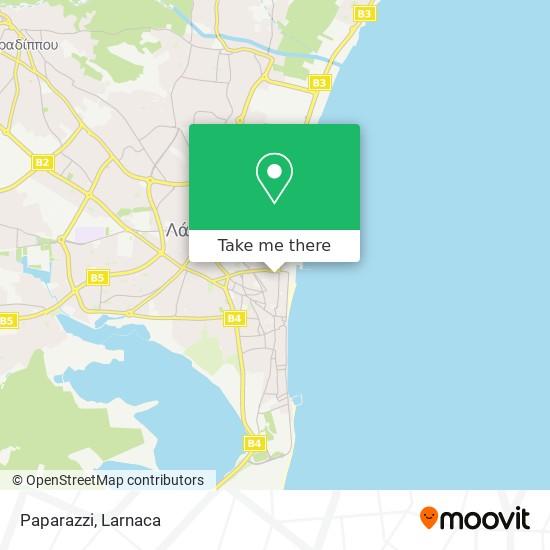Paparazzi χάρτης