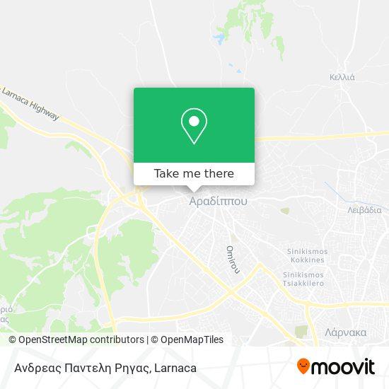 Ανδρεας Παντελη Ρηγας χάρτης
