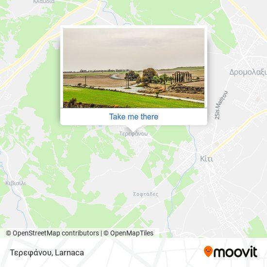 Tersefanou χάρτης