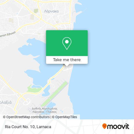 Ria Court No. 10 χάρτης