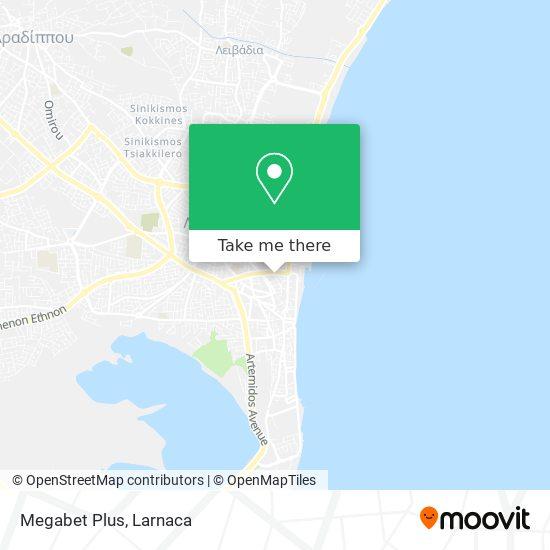 Megabet Plus χάρτης
