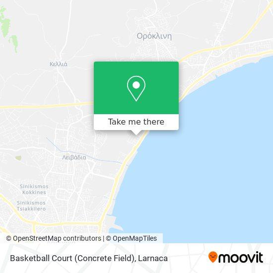 Basketball Court (Concrete Field) χάρτης