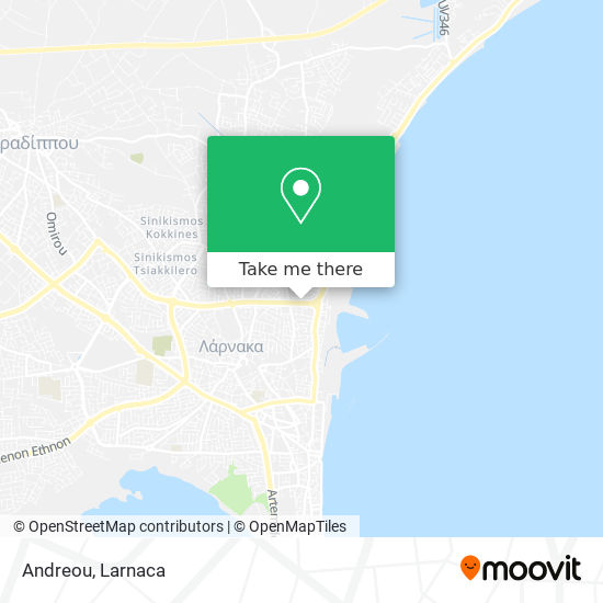 Andreou χάρτης