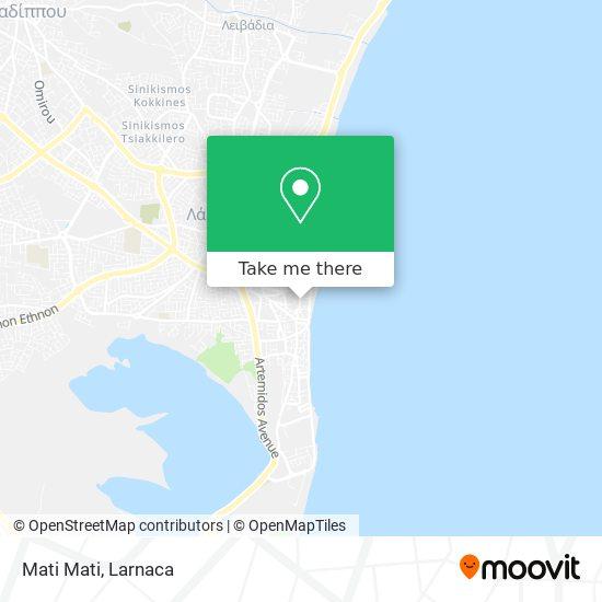 Mati Mati χάρτης