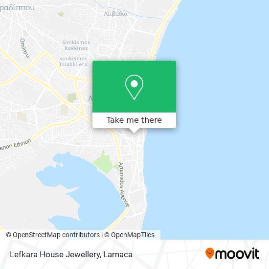 Lefkara House Jewellery χάρτης