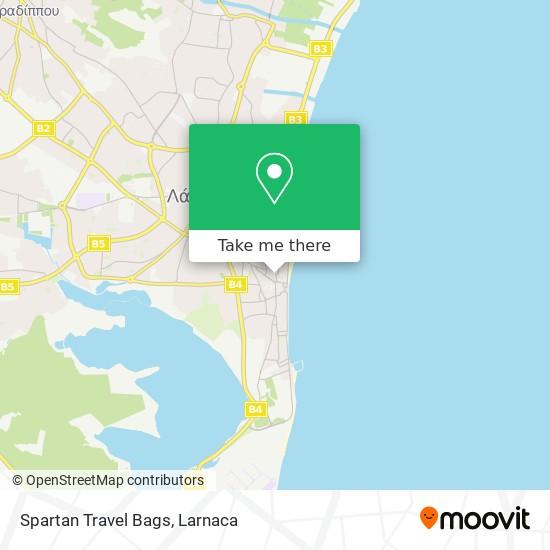 Spartan Travel Bags χάρτης