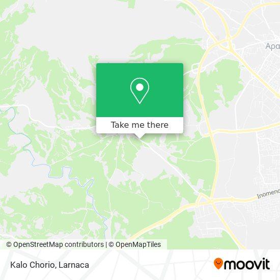 Kalo Chorio χάρτης