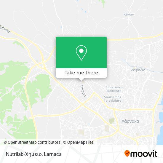 Nutrilab-Χημειο χάρτης