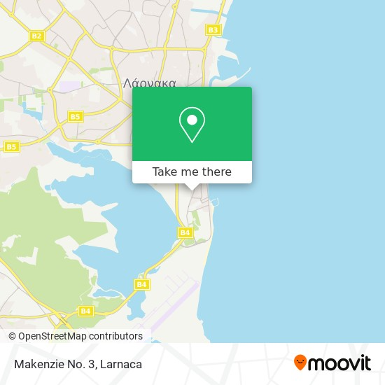 Makenzie No. 3 χάρτης