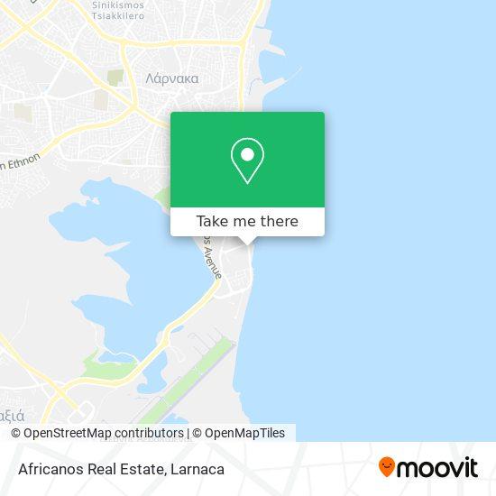 Africanos Real Estate χάρτης