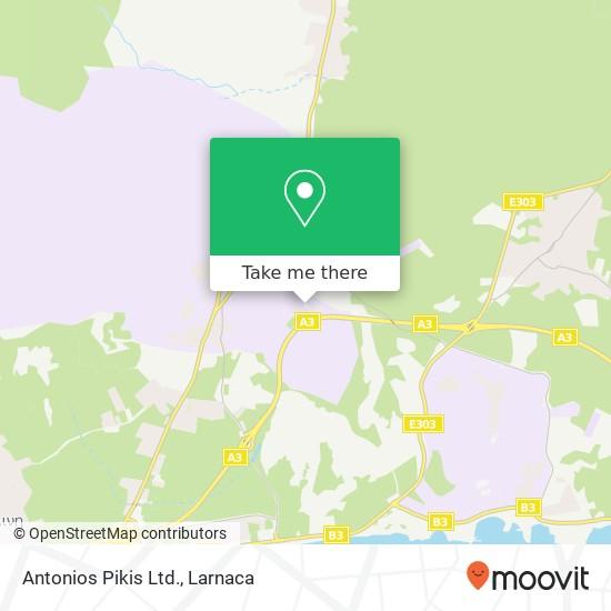 Antonios Pikis Ltd. χάρτης