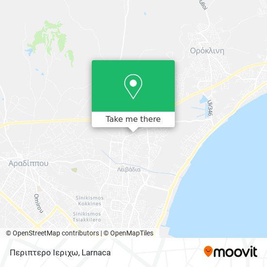 Περιπτερο Ιεριχω χάρτης