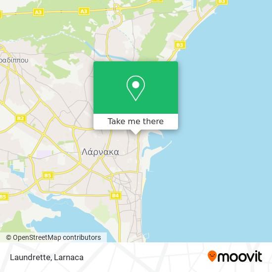 Laundrette χάρτης