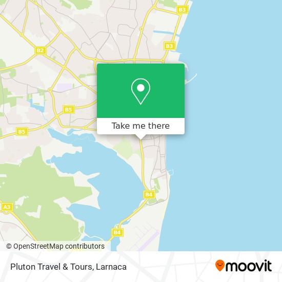 Pluton Travel & Tours χάρτης