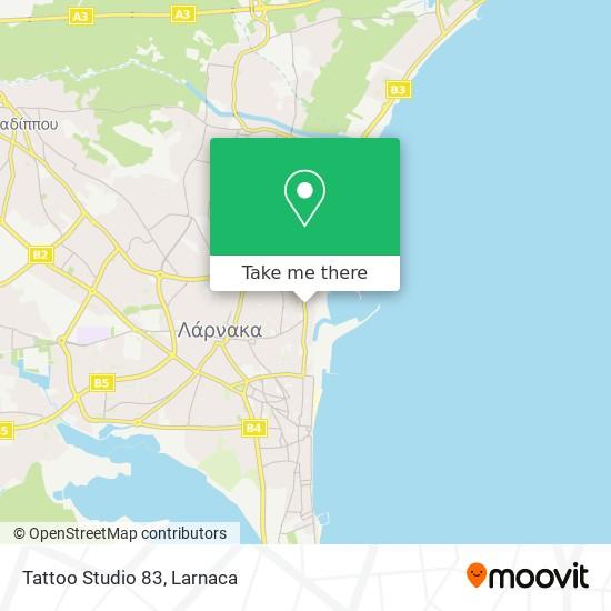 Tattoo Studio 83 χάρτης
