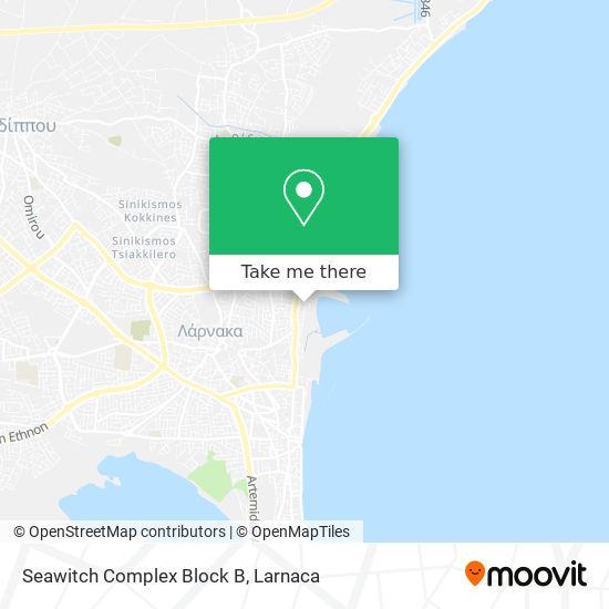 Seawitch Complex Block B χάρτης