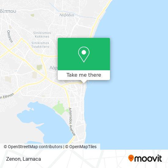 Zenon χάρτης