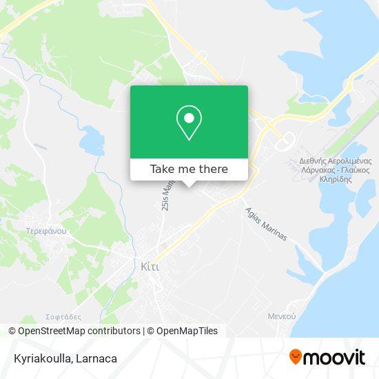 Kyriakoulla χάρτης