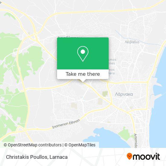 Christakis Poullos χάρτης
