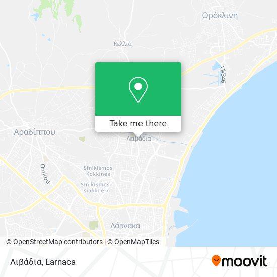 Livadia χάρτης