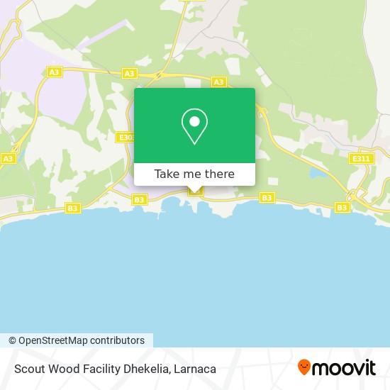 Scout Wood Facility Dhekelia χάρτης