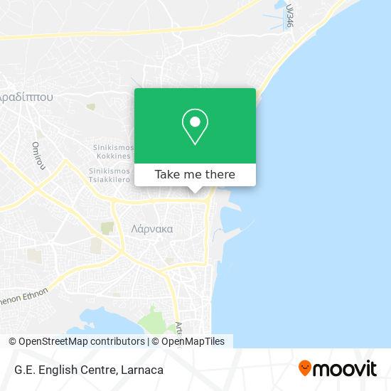 G.E. English Centre χάρτης