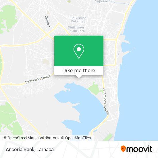 Ancoria Bank χάρτης