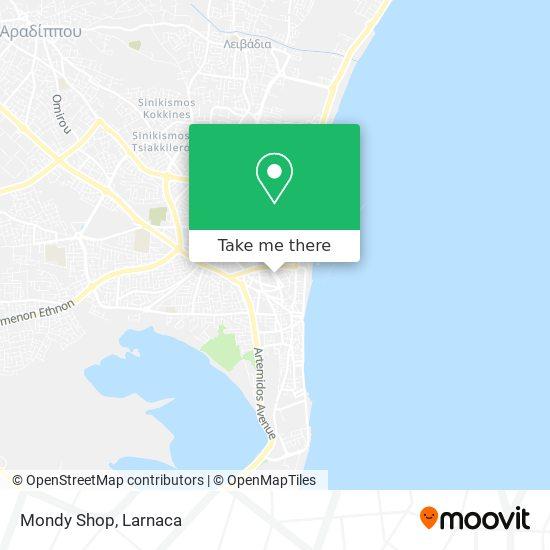 Mondy Shop χάρτης