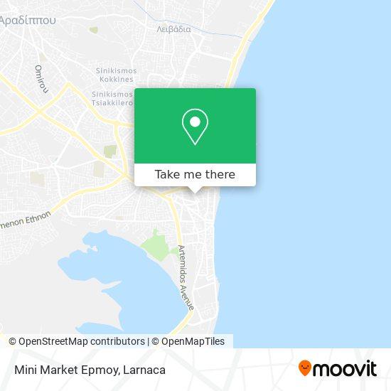 Mini Market Epmoy χάρτης