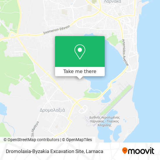 Hala Sultan Tekke χάρτης