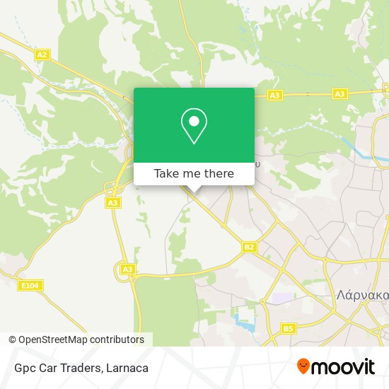 Gpc Car Traders χάρτης