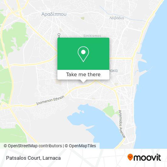 Patsalos Court χάρτης