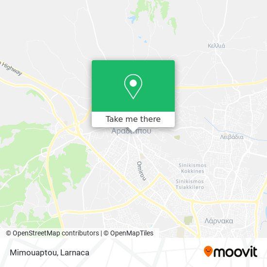 Mimouaptou χάρτης