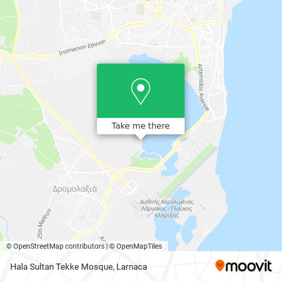 Hala Sultan Tekke Mosque χάρτης