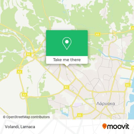 Volandi χάρτης