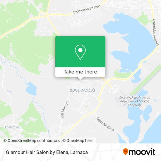 Glamour Hair Salon By Elena χάρτης