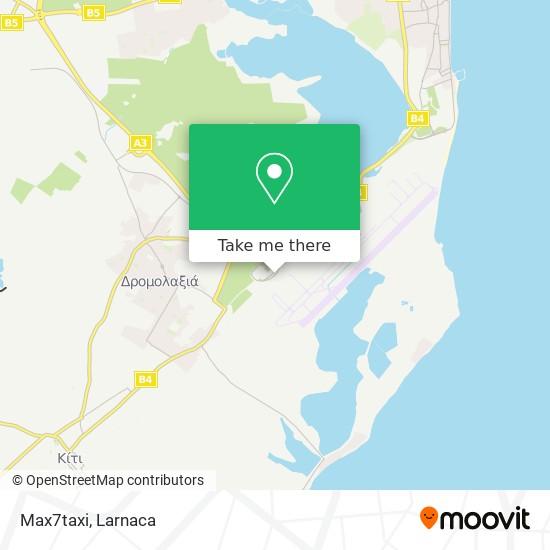 Max7taxi χάρτης